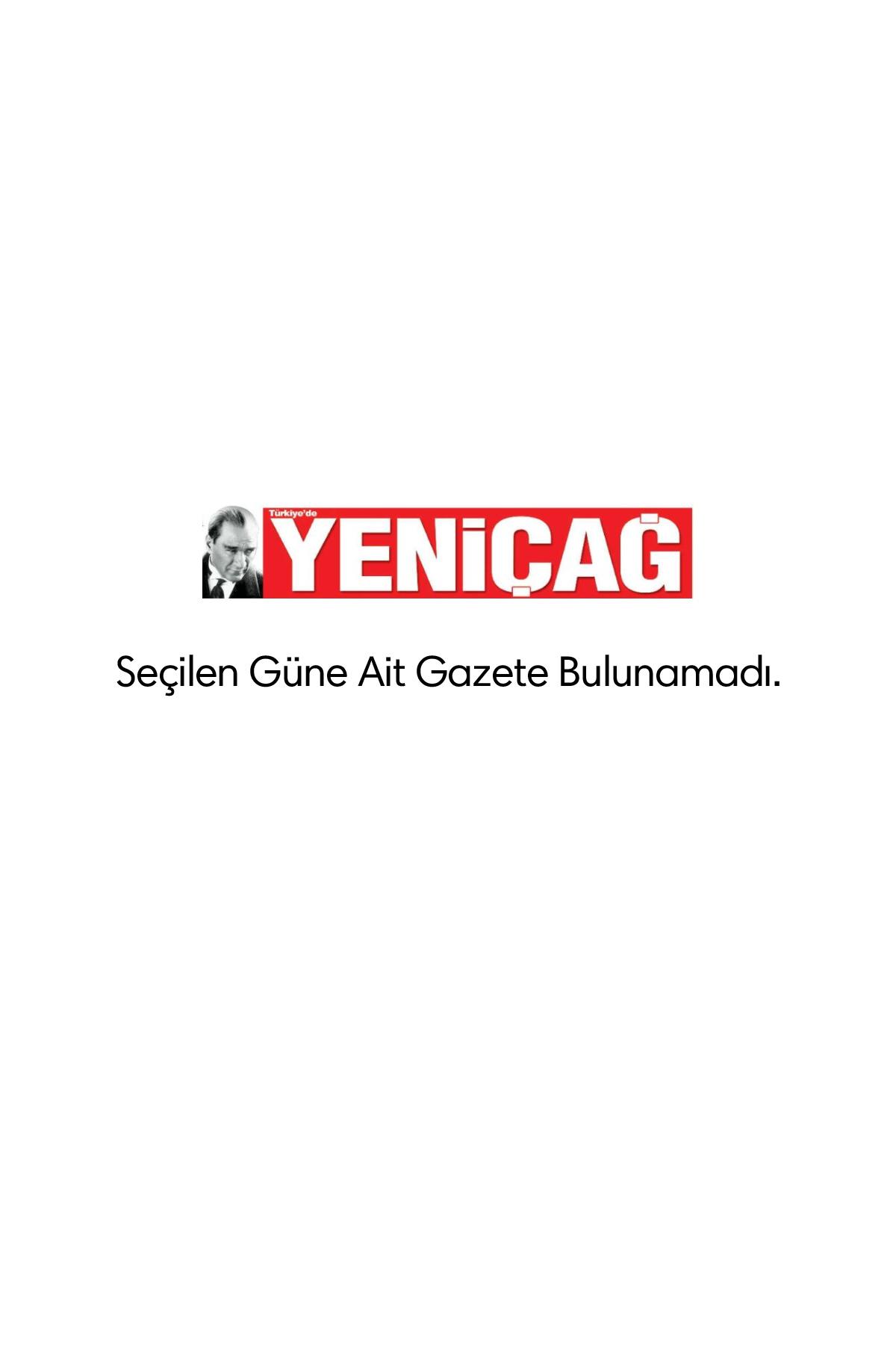 yenicag Gazetesi Manşeti