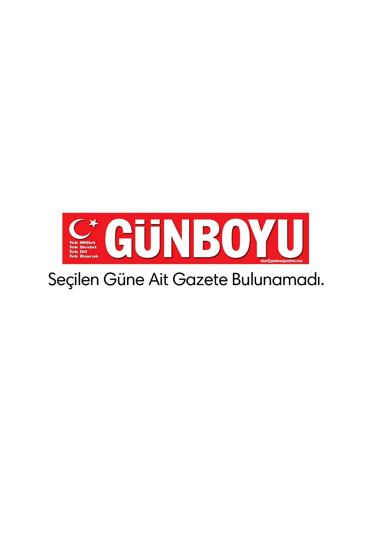Günboyu  Gazetesi Manşeti
