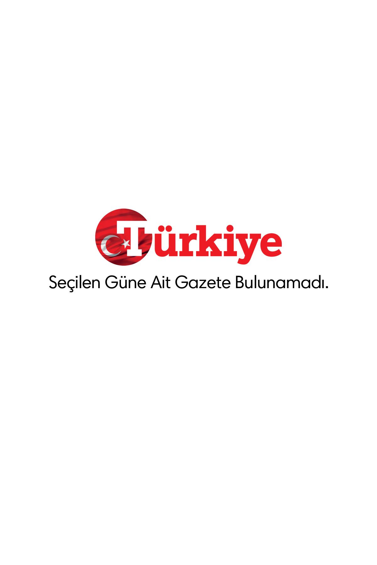 Türkiye Gazetesi Manşeti