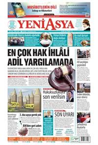 Yeni Asya Gazetesi Manşeti